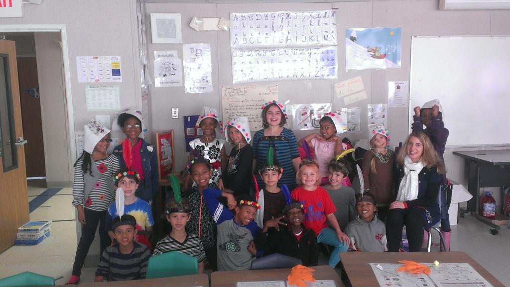 Mme. Emmanuelle's 2nd Grade Class